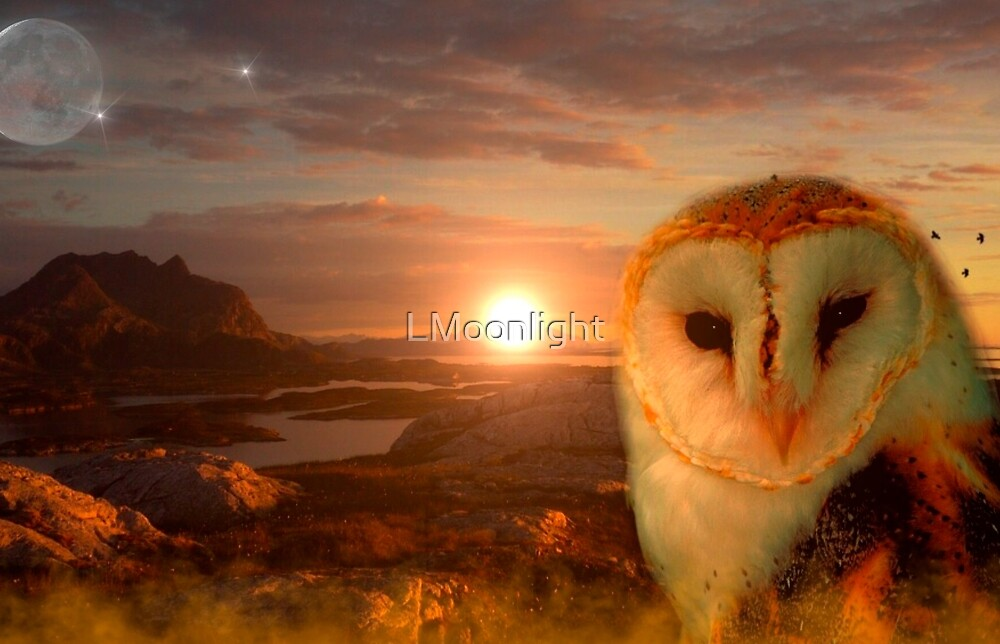 Owl soul by LMoonlight