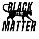 Black Cats Matter by Calum Margetts Illustration