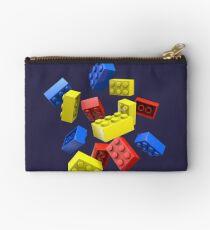 Falling Toy Bricks Studio Pouch