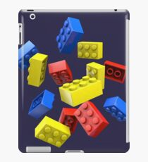 Falling Toy Bricks iPad Case/Skin