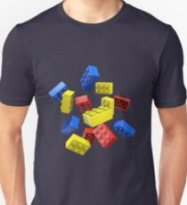 Falling Toy Bricks T-Shirt