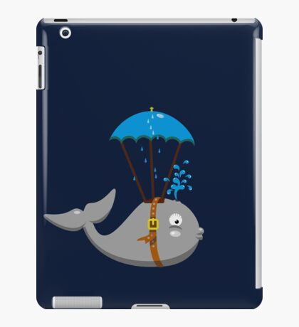 Sky Diving Whale VRS2 iPad Case/Skin