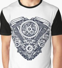 Cyberpunk heart Graphic T-Shirt