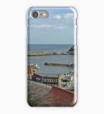 Whitby Lower Harbour  iPhone Case/Skin