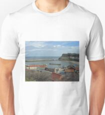 Whitby Lower Harbour  Unisex T-Shirt