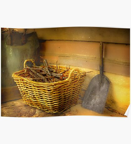 The Wood Basket . . . Poster