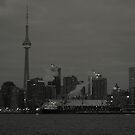 A Black and White Image...... Toronto the Good.... by Larry Llewellyn