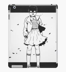 Eleven is not scared iPad Case/Skin