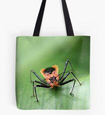 Orange Crawler Tote Bag
