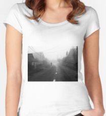 Morning Fog Women's Fitted Scoop T-Shirt
