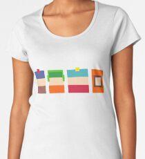 South Park Boys Pixel Art Women's Premium T-Shirt