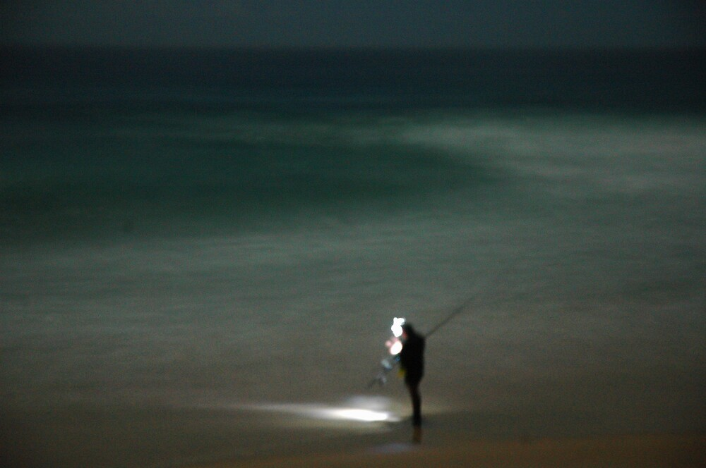 night fishing 1 by Stephen Elias