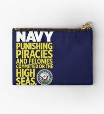 Navy Studio Pouch