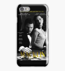 """Macklin"" poster 1 iPhone Case/Skin"