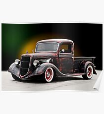 1935 Ford 'NorCal' Pickup Poster