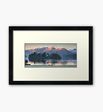 Derwent Island and Cat Bells Framed Print