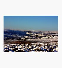 Winter on the Moors Photographic Print