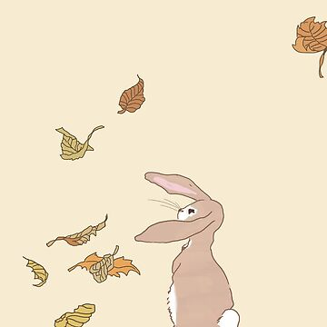 fall rabbit by Kieranhetz