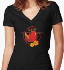 DDE 666 Women's Fitted V-Neck T-Shirt