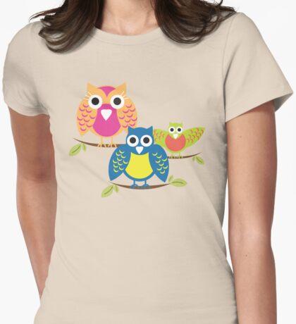 owls branch T-shirt  T-Shirt