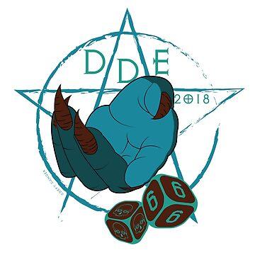 DDE666 Sticker by defydanger