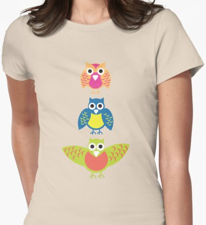 3 wise owls T-Shirt