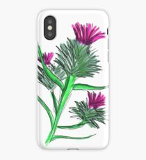 Scottish Thistle iPhone Case/Skin