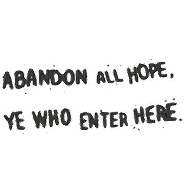 Life is Strange: Before the Storm - Abandon All Hope, Ye Who Enter Here Sticker by scolecite