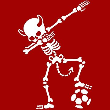 Dab Dabbing Rode Duivels / Diable Rouge soccer by LaundryFactory