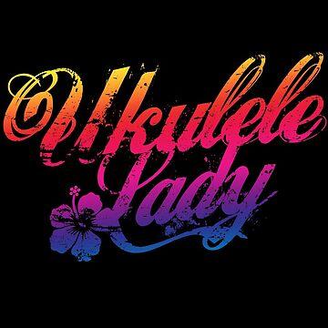 Ukulele Lady by grinningskull