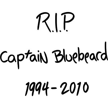 Life is Strange: Before the Storm - RIP Captain Bluebeard by scolecite