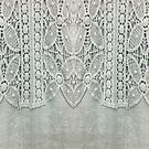 grey linen country chic floral bohemian lace by lfang77