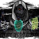 Creepy Merchant PixelArt by AndromedaINDIE