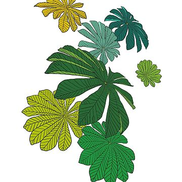 Tropical Leaves by m-lapino