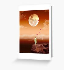 I will sing you to me..... Greeting Card
