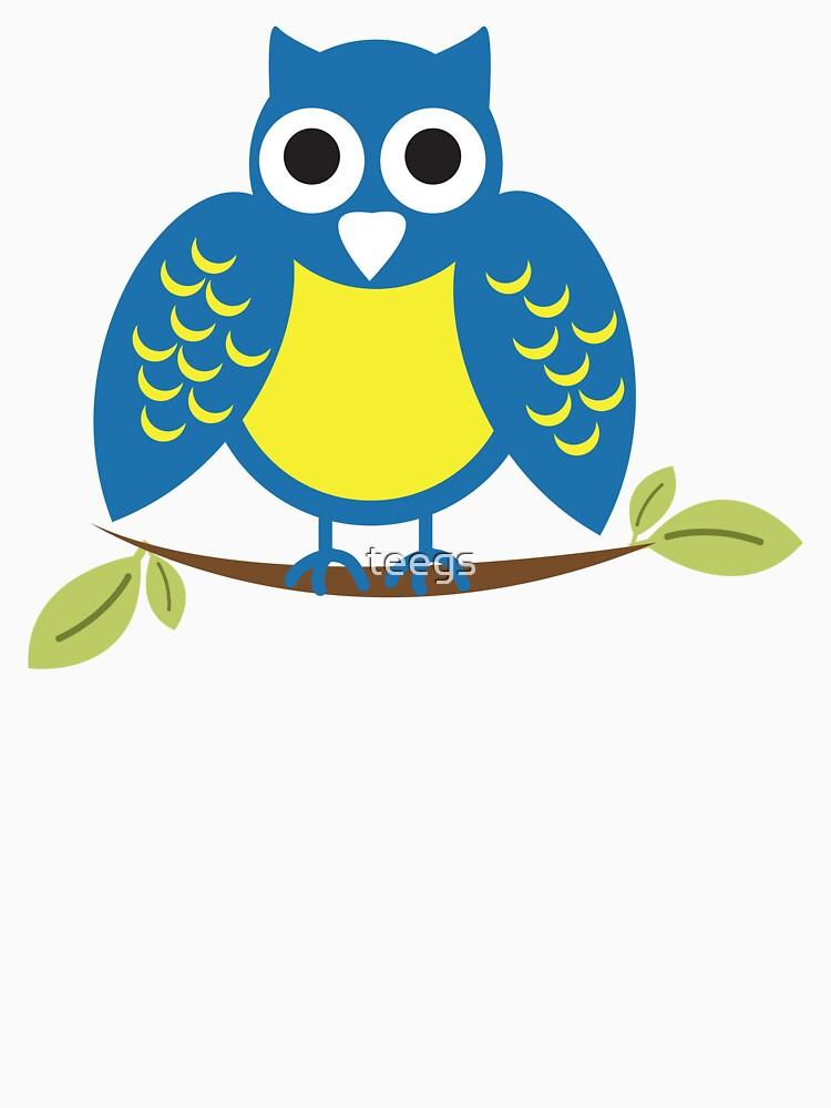 blue owl by teegs