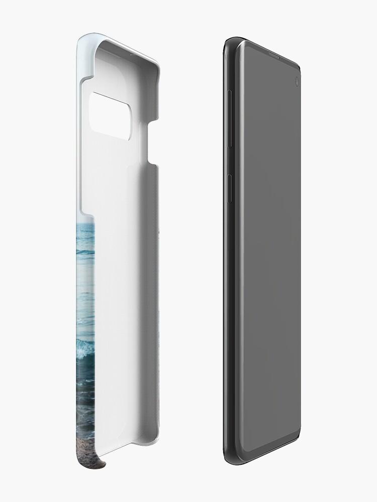Alternate view of Calm ocean waves Case & Skin for Samsung Galaxy