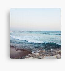 Calm ocean waves Canvas Print