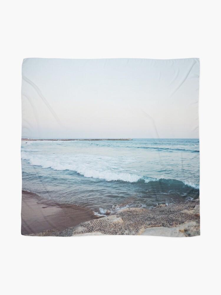 Alternate view of Calm ocean waves Scarf