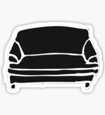 Brockhampton Black Couch Sticker