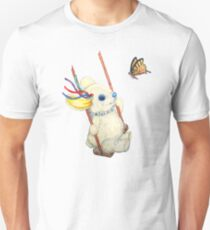 Pooky Swinging with a Butterfly T-Shirt
