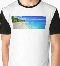 Beach Graphic T-Shirt