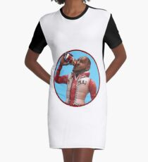 LeBron James - Cranberry Sprite Meme Graphic T-Shirt Dress