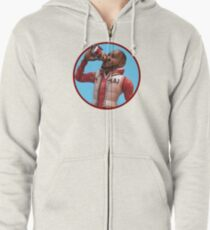 LeBron James - Cranberry Sprite Meme Zipped Hoodie