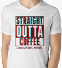 3D Straight Outta Coffee T-Shirt
