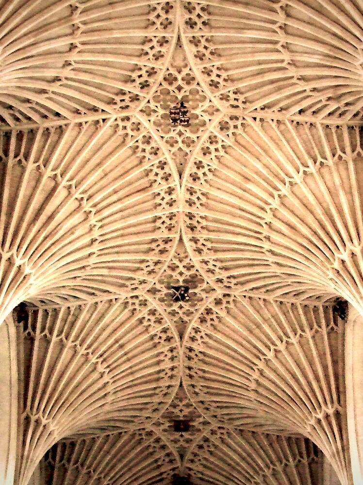 Bath Abbey Vaulting by Richard Hagen
