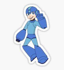 Blue Bomber Sticker