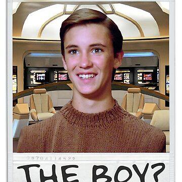 THE BOY? by CreativeSpero