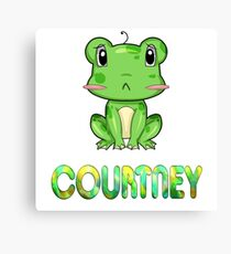 Frosch Courtney Canvas Print