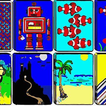 90's Maze Screensaver